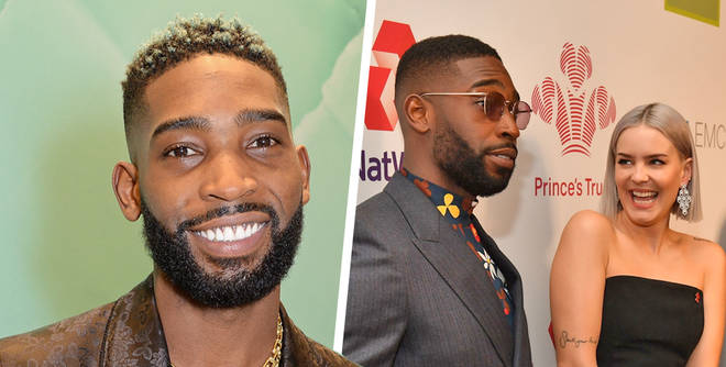 Tinie Tempah reveals his baby daughter for the first time