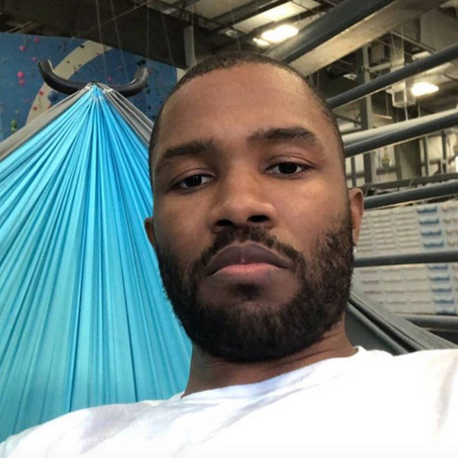 Frank Ocean shared his Matt Groening-inspired new tattoo on Instagram