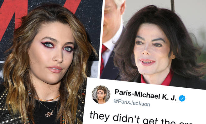 Paris Jackson responds to suicide claims on Twitter