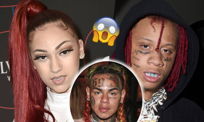 Bhad Bhabie leaked her direct messages with Trippie Redd.