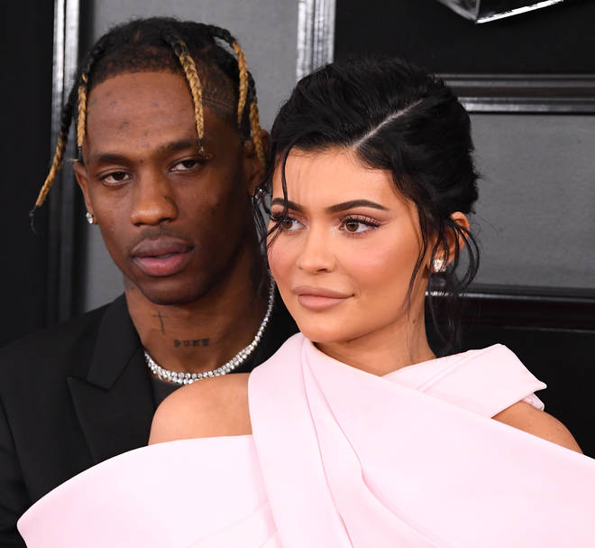 Kylie and Travis got together in the summer of 2017.