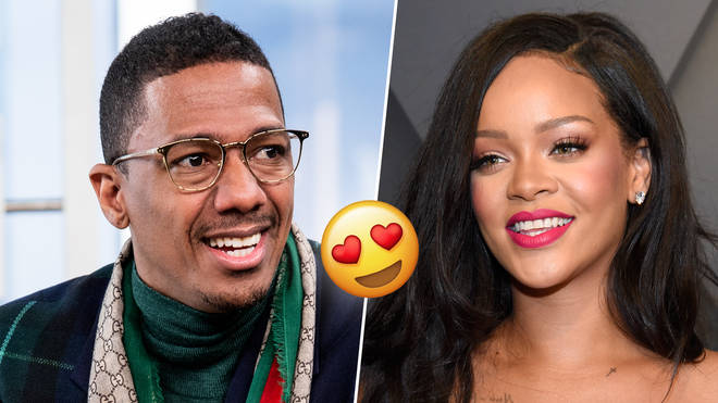 Nick Cannon shared his appreciation for Rihanna with a cheeky comment.