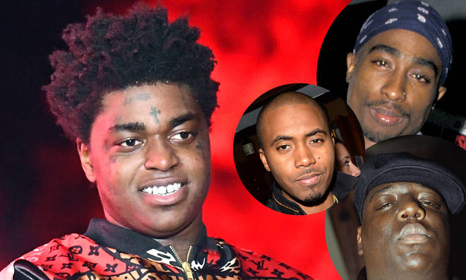 Kodak Black compared himself to the Hip-Hop G.O.A.T's.