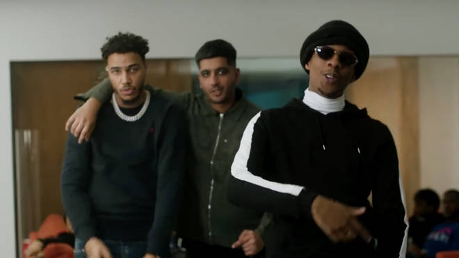 Steel Banglez, AJ Tracey and MoStack link up for 'Fashion Week.'