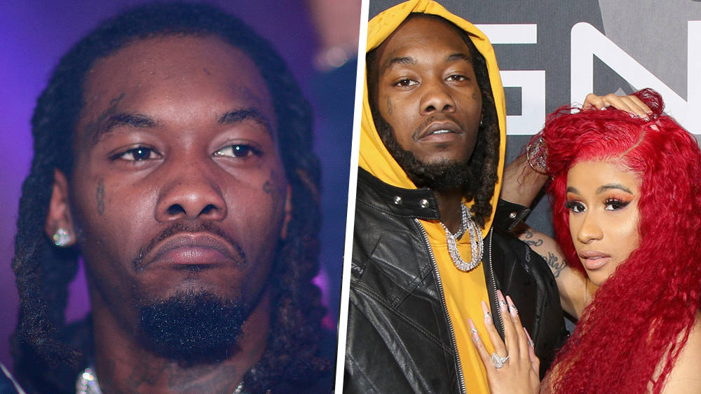 """Cardi B Reveals New Offset Tattoo Photo: Offset Reveals Details Of The """"Take Me Back"""" On Stage"""