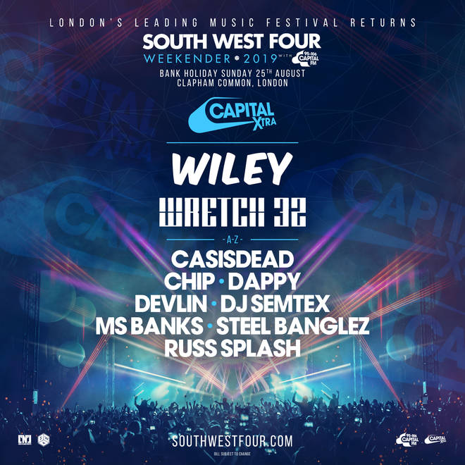 South West Four line up