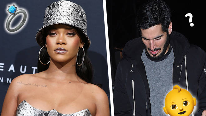 Rihanna Hints Engagement And Baby Plans With Billionaire Boyfriend Hassan Jameel