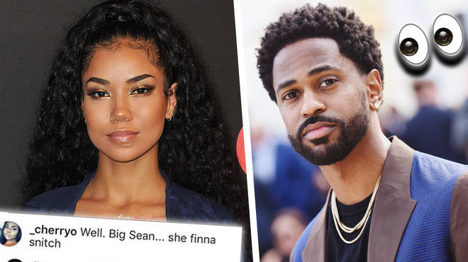 "Jhene Shuts Down Fan Who Claims That She Will ""Snitch"" On Big Sean On New Album"