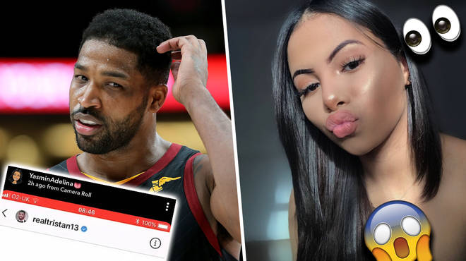Tristan Thompson Exposed For Sliding Into 17 Year-Old Influencer's DM's