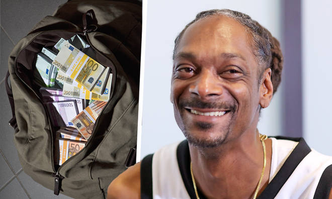 Snoop Dogg left a bag of cash in an Exeter club