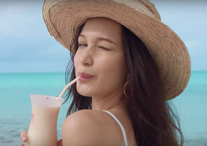 Model Bella Hadid also promoted Fyre Festival