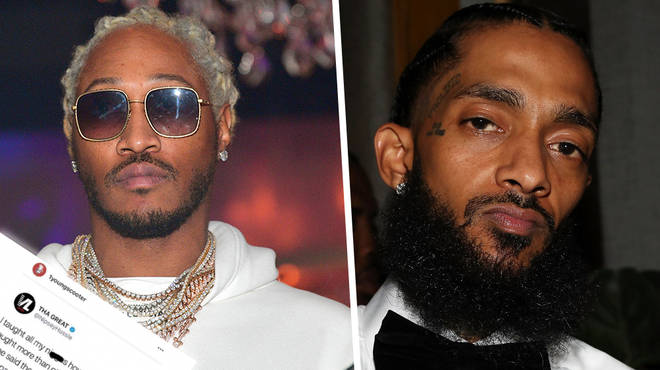 Future Receives Backlash After Comparing Himself To Nipsey Hussle