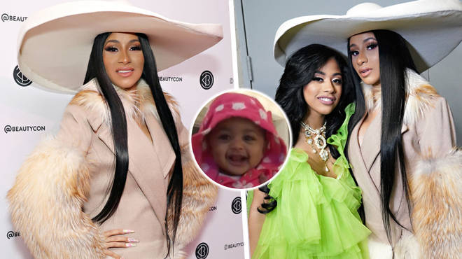 Cardi B Reveals Daughter Kulture Is Her Sister S Twin With