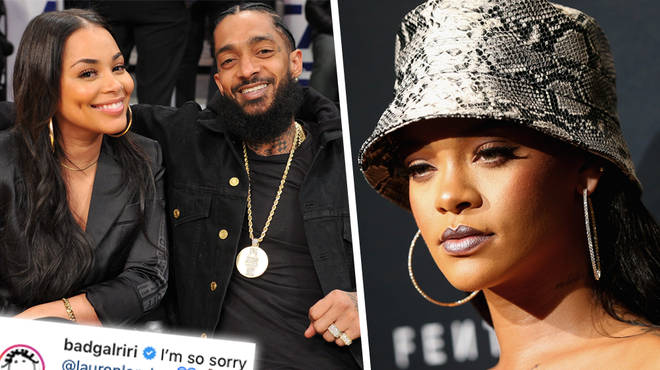 Rihanna Posts Emotional Tribute To Lauren London Following Nipsey Hussle's Tragic Death