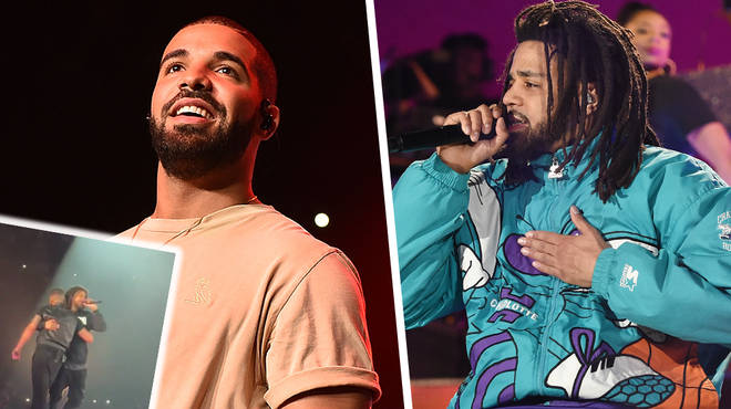 Drake Brings Out J. Cole During Last London Show And Teases New Music Together - WATCH