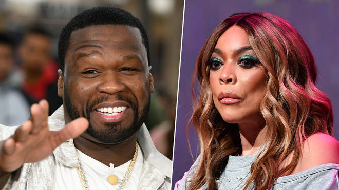 50 Cent took aim at talk show host Wendy Williams following reports of her alleged divorce.