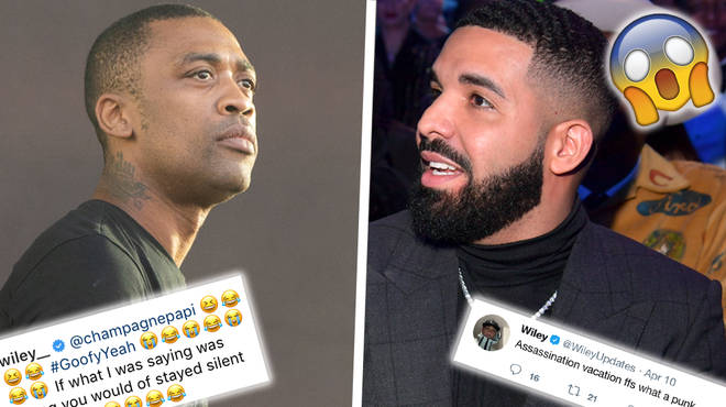 "Wiley Savagely Responds To Drake Calling Him ""Goofy"" Over &squot;Culture Vulture&squot; Allegations"