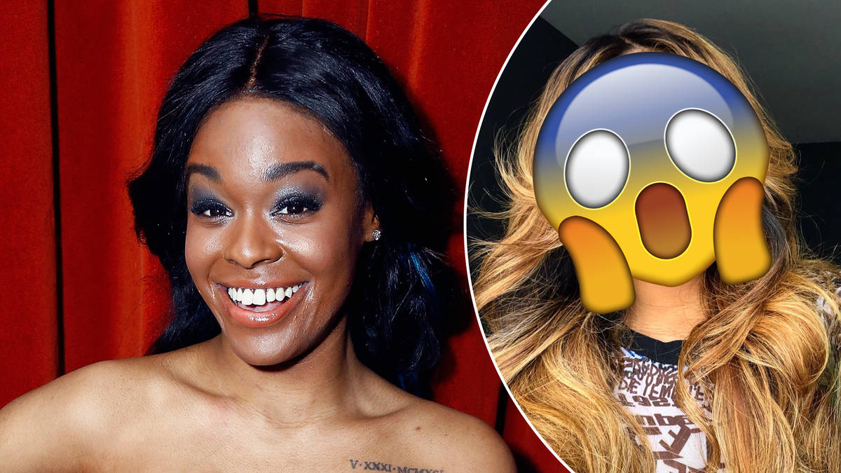 Azealia Banks Shocks By Shaving Her Eyebrows Off & People Are Divided - Capital XTRA