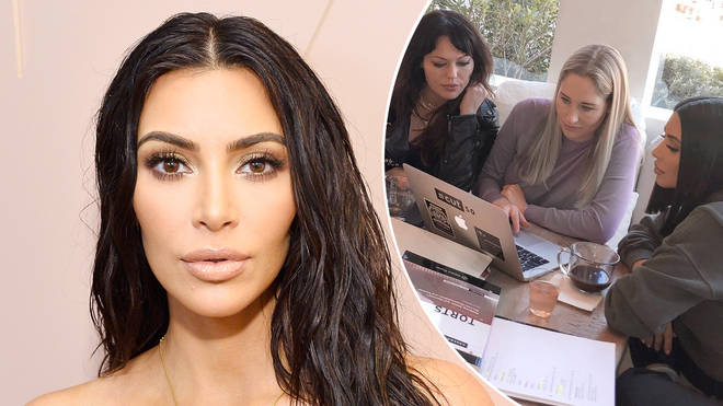 Kim Kardashian hopes to take the state bar exam in 2022.