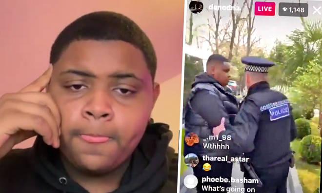 Deno 'arrested' on Instagram live