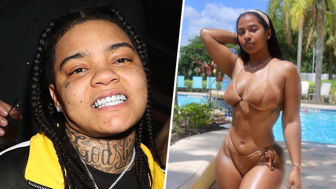 Young MA is rumoured to be romancing social media star Mya Yafai.