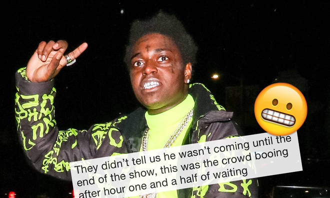 Kodak Black left fans waiting inside Boston's House Of Blues disappointed.
