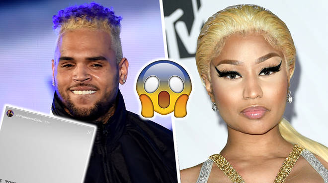 Chris Brown Confirms Surprise Summer Tour With Nicki Minaj