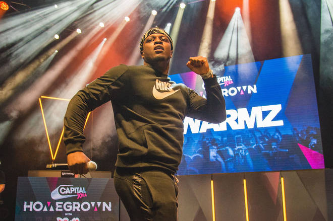 Swarmz took to the stage to perform hits including 'Bally'.