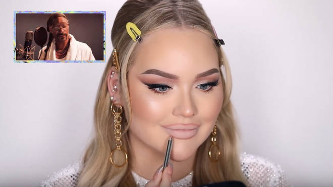 The rapper narrated an entire video of Nikkie applying makeup.