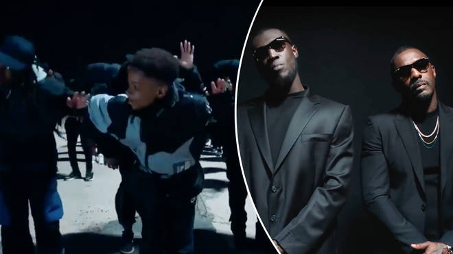 cfadc665f799a Stormzy dropped the visuals for  Vossi Bop  - which featured a cameo from  Idris