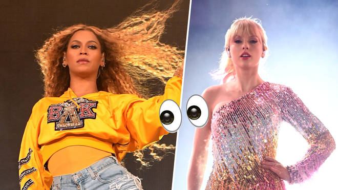 "Taylor Swift has been accused of ""ripping off"" Beyonce with her use of a marching band."