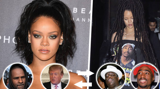 Rihanna Addresses Controversial Song Calling To Swap R. Kelly & Trump For Tupac & Biggie