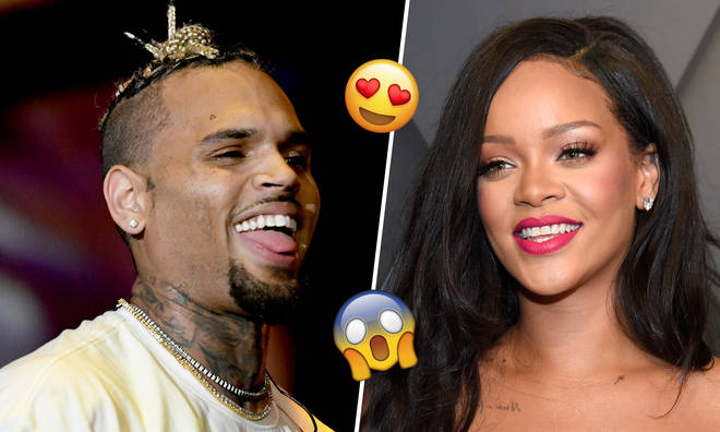 Chris Brown hailed Rihanna a 'queen' in his shock comment.