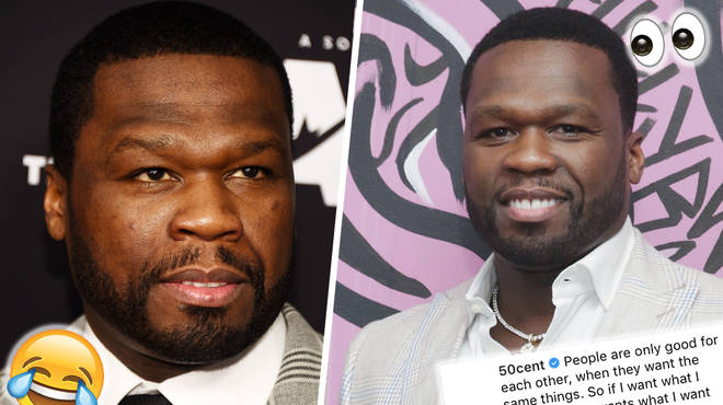 50 Cent Responds To 'Girlfriend' Rumour After Posting Intimate Photos With Mystery Woman