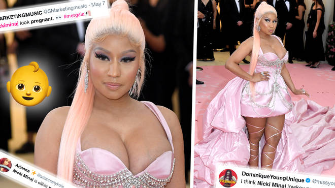 Nicki Minaj Sparks Baby Rumours After Met Gala Appearance