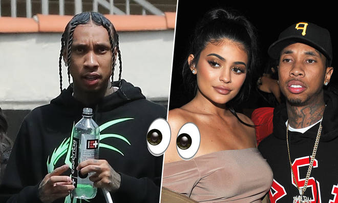 Tyga's new mystery woman bares a resemblance to Kylie.