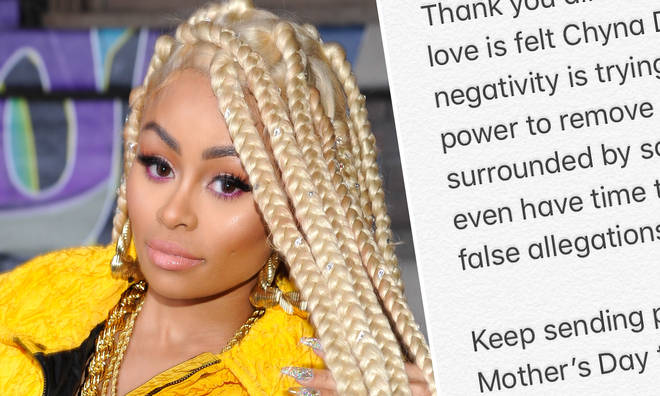 Blac Chyna release a statement after the reports of assault surfaced.