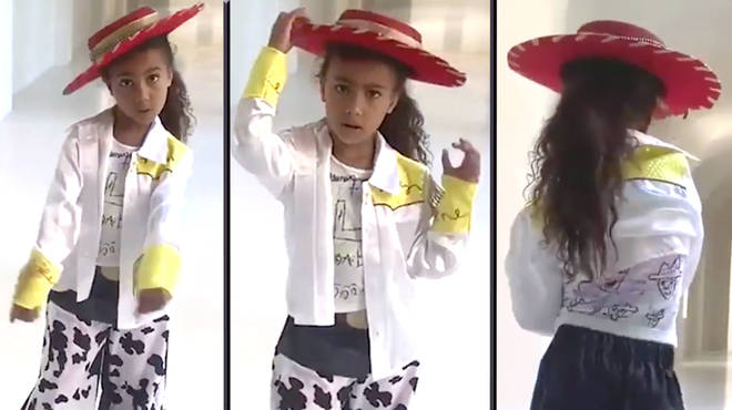 Kim Kardashian shared a video of North West dancing to Lil Nas X's 'Old Town Road'