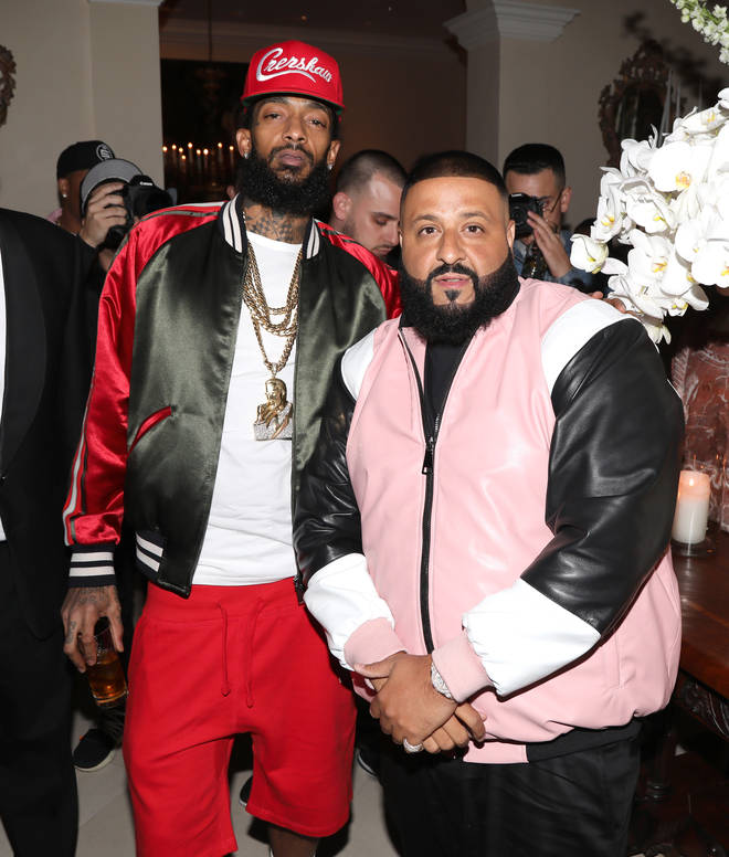 The late Nipsey Hussle collaborated with DJ Khaled for his new album