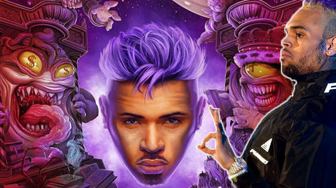 Chris Brown revealed his new album cover for Indigo - and fans can't handle it.
