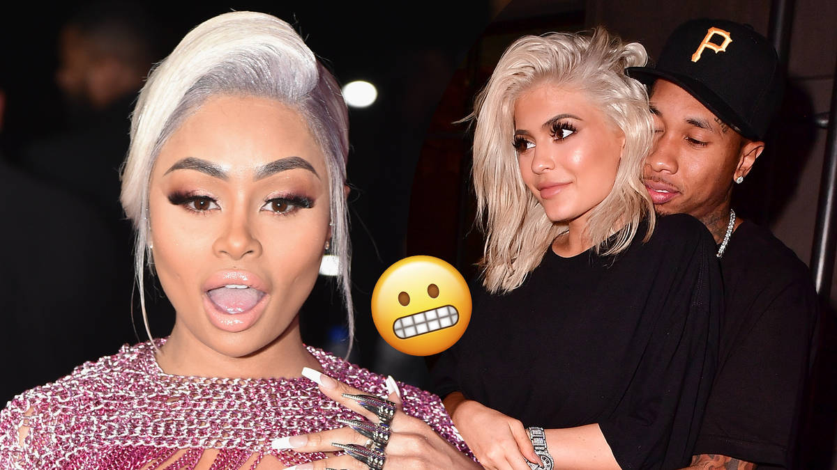 Blac Chyna Reveals The Crazy Way She Found Out Ex Tyga Was Dating Kylie Jenner - WATCH