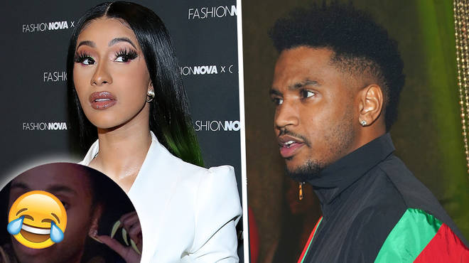 Cardi B Fans Say She Looks Like Trey Songz With Gender-Swap Filter