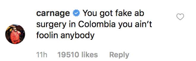 """DJ Carnage trolls Drake by saying he got """"fake abs"""""""