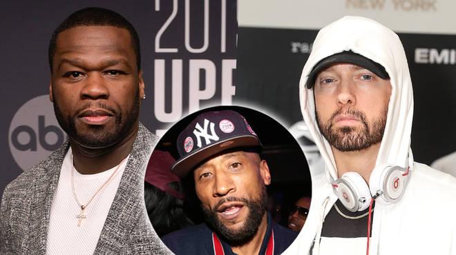 50 Cent Defends Eminem After Lord Jamar's Explosive Surprise Attack