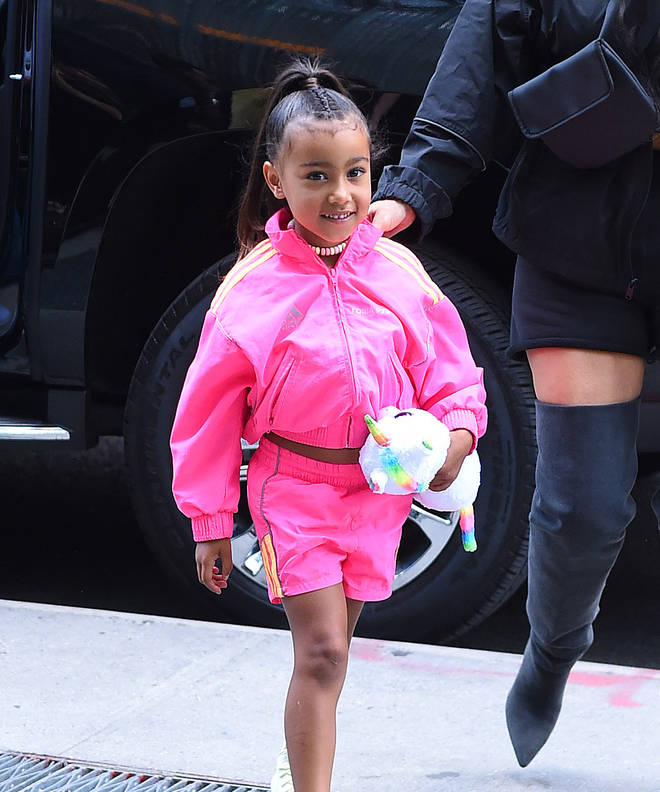 North West was born June 15, 2013.