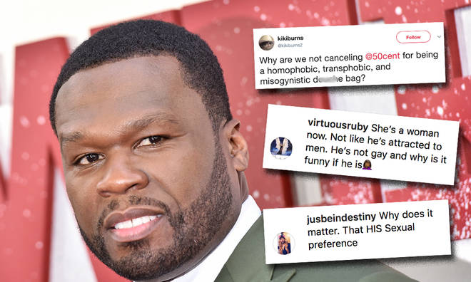 50 Cent facing huge backlash over homophobic and transphobic comments