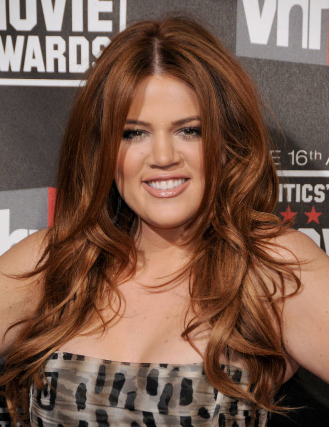 Khloe Kardashian attending the Critics' Choice Movie Awards back in 2011.