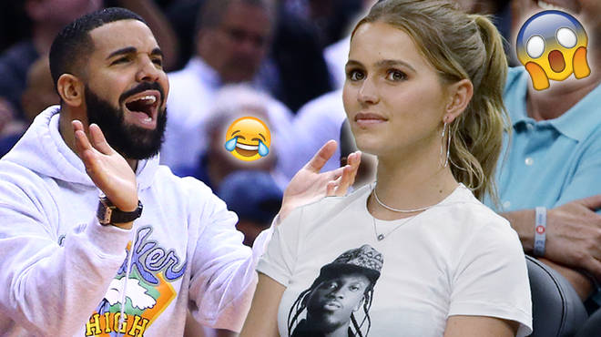 Drake Hilariously Clapped Back After Being Trolled With Pusha T Shirt At NBA Game