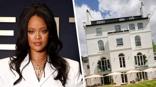 Rihanna's Secret £30 Million Mansion In London Has Been Revealed