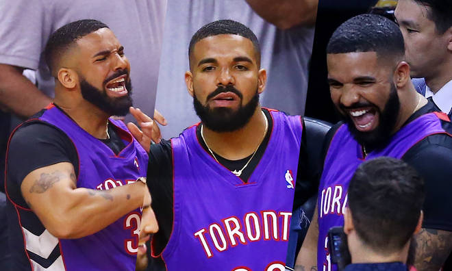 Drake took centre stage the first game of the NBA Finals.
